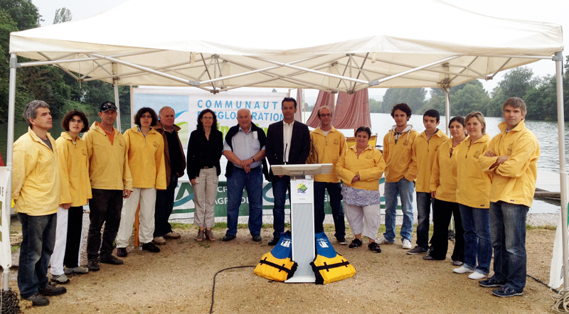 Lry-Poses : 9 jeunes marins relvent le dfi de l'Atlantic Challenge