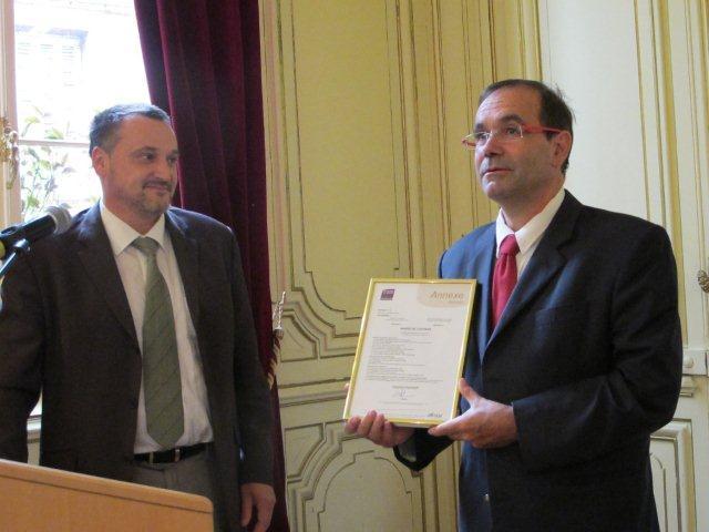 Le certificat AFNOR officialise la qualité du service rendu