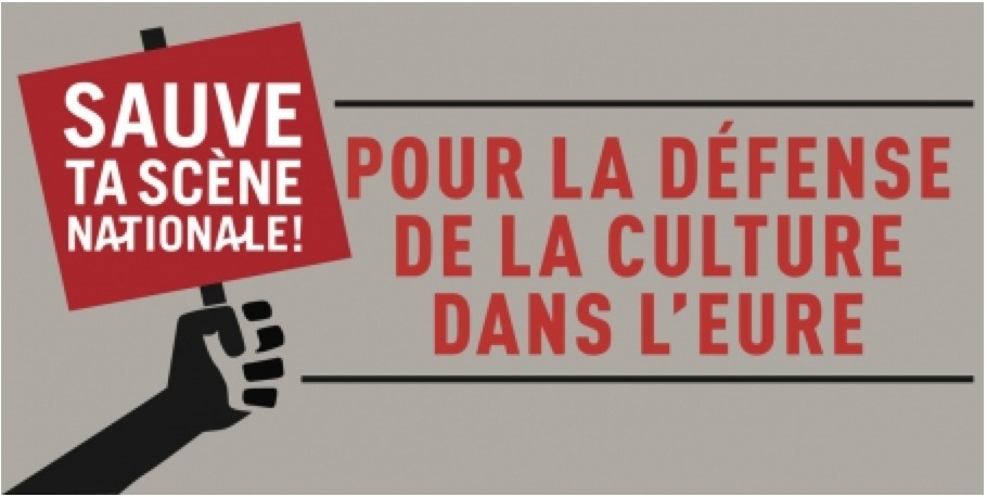 Signez la pétition pour sauver la culture à Louviers comme à Evreux ( ci dessous )