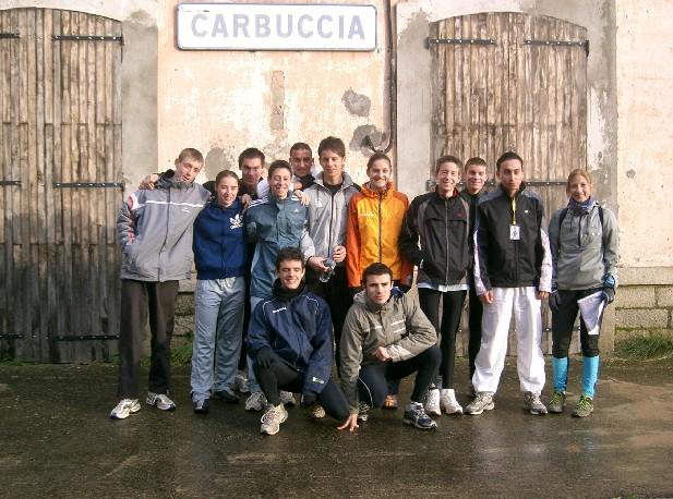 A la gare de Carbuccia