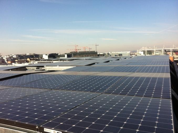 Chantier EC Solar MEDIACOM Saint Denis, opérateur SOLSTYCE