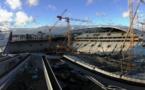 EC Solar SAS réalise l'électricité DC photovoltaïque du stade JEAN BOUIN à PARIS.
