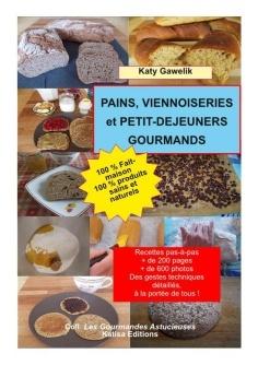 """Sortie de """"Pains, viennoiseries et petits déjeuners gourmands"""" de Katy Gawelik"""