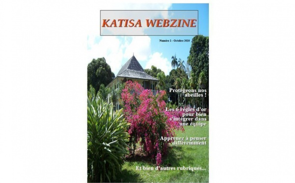 Sortie du n°1 de Katisa Webzine