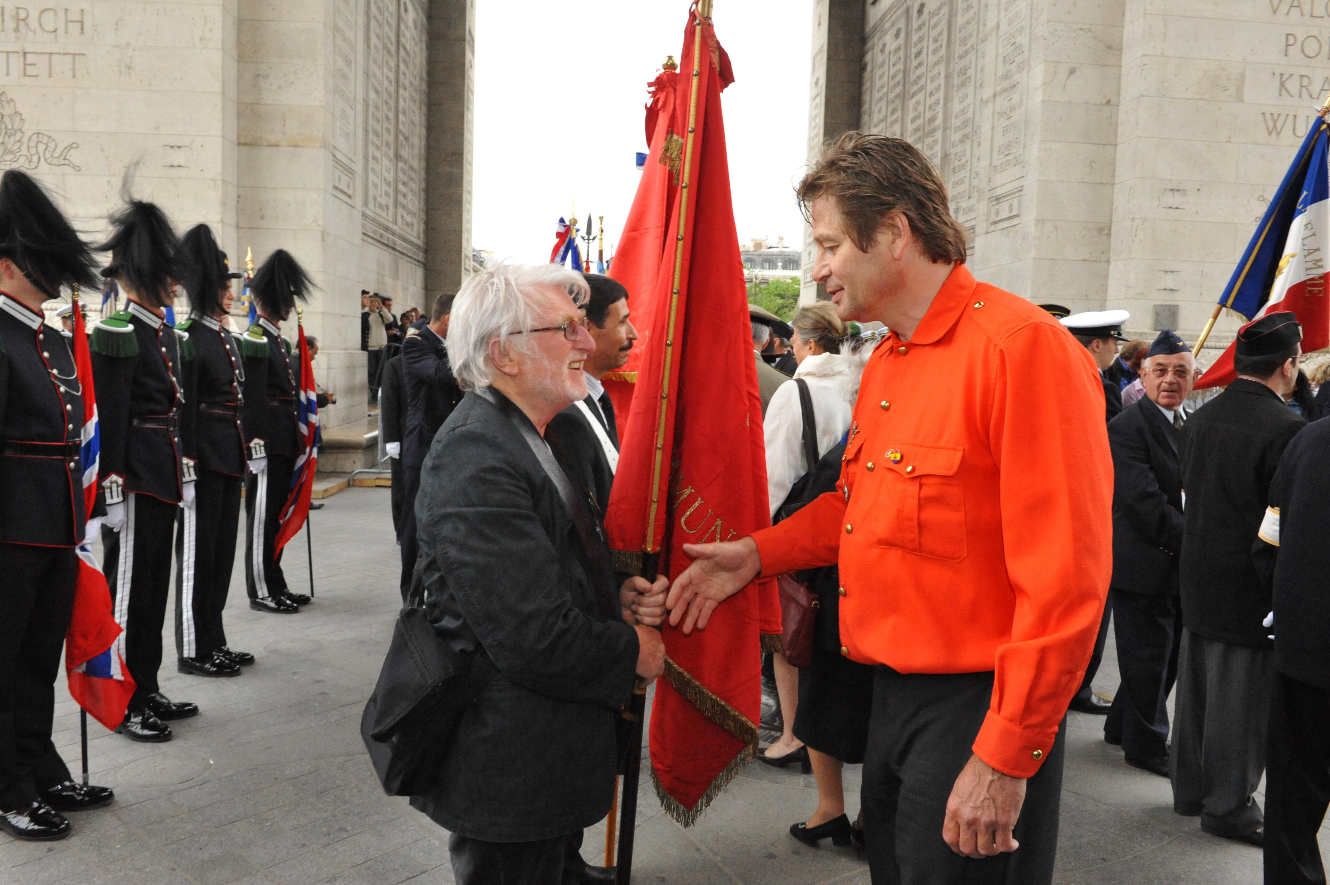Yves LENOIR et Philippe GUISTINATI (photo LES GARIBALDIENS)