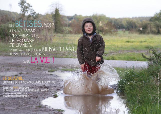 La journée de la non violence éducative en 2013, 10 ème édition.