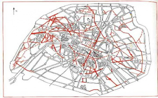plans d 39 urbanisme du second empire paris et ses immeubles haussmann. Black Bedroom Furniture Sets. Home Design Ideas