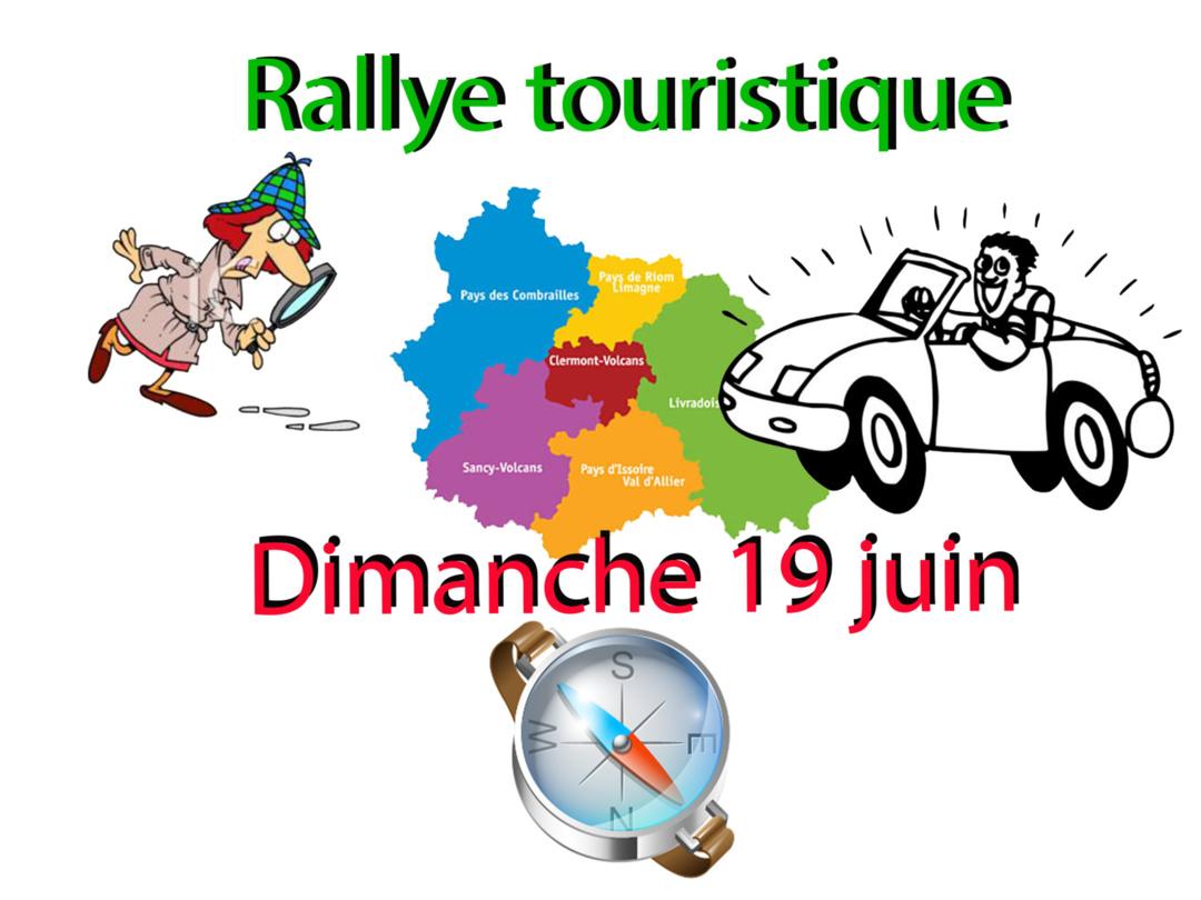 RALLYE TOURISTIQUE 2016