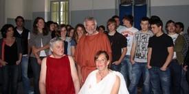 Les Lois, Criton, Socrate entourés de leurs disciples