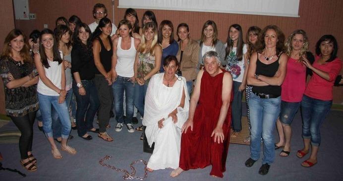 Vinciguerra, Les Lois, Criton et Sylvie bien entourés