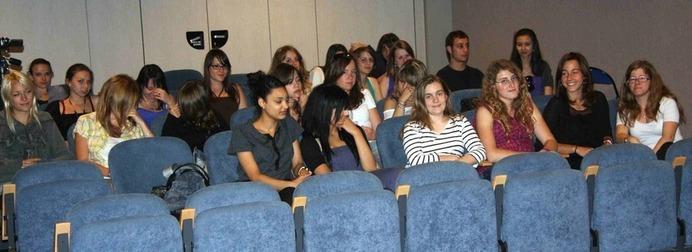 Un public nombreux et souriant