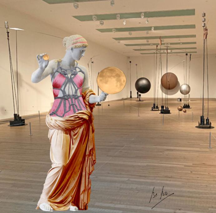 "L'Aphrodite d'Arles, ""télésculpture vibrative"""