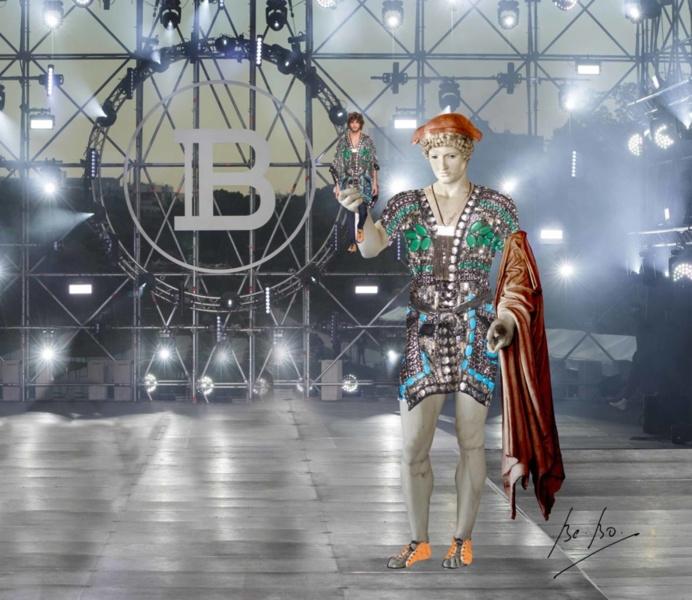 Un Hermès balmainisé !