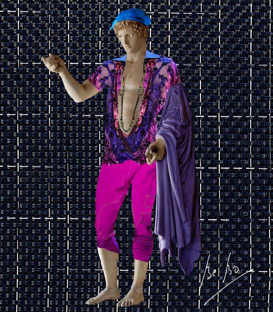 Hermès Ludovisi vu par Prabal Gurung