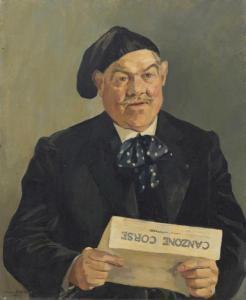 Maistrale, dipinto da Simone Bettevaux