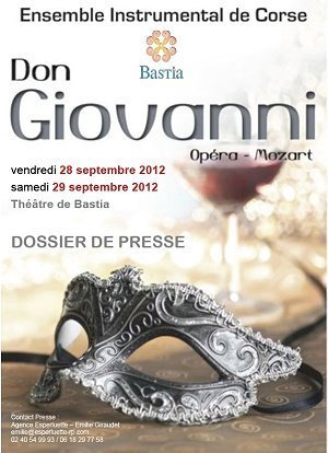 Don Giovanni in apertura