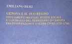 """""""Genova ed il suo Regno. Ordinamenti militari, poteri locali e controllo del territorio in Corsica fra insurrezioni e guerre civili (1729-1768)""""."""