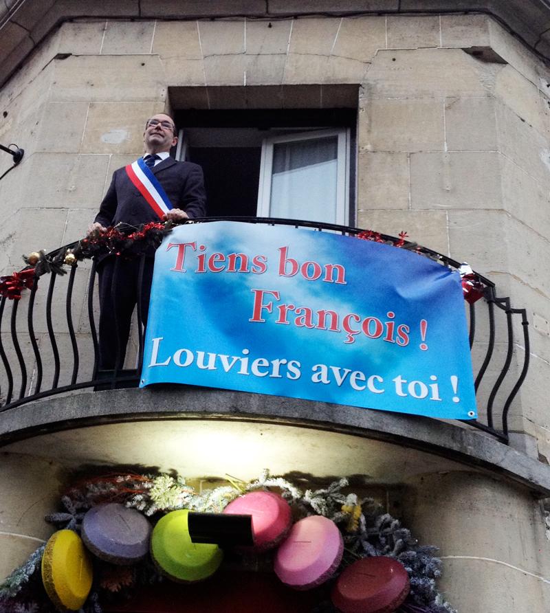 Louviers accueille François Hollande
