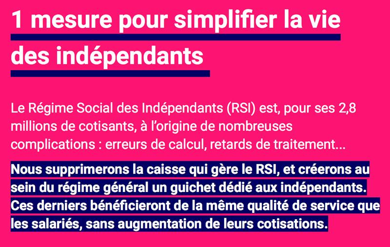 Une mesure pour simplifier la vie des indépendants