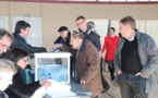 Louviers : Participation en légère baisse à 16h.