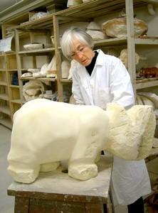 Portrait d'un sculpteur