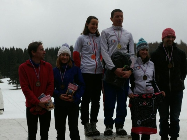 Podium Dame/Homme Elite