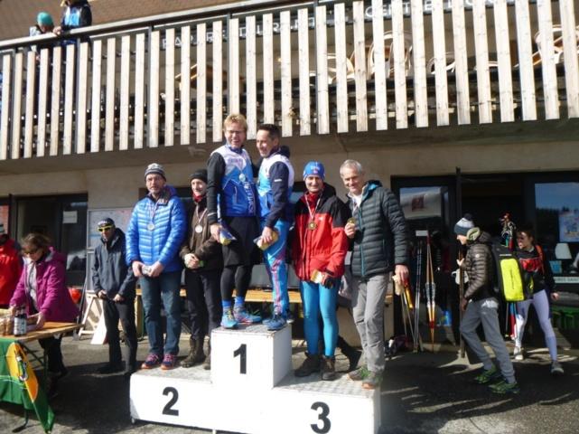Le 2ème podium de l'ACA en relais : Pierre et Frédéric !