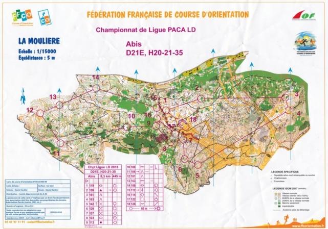Championnat de Ligue Longue Distance CO - La Moulière (06)
