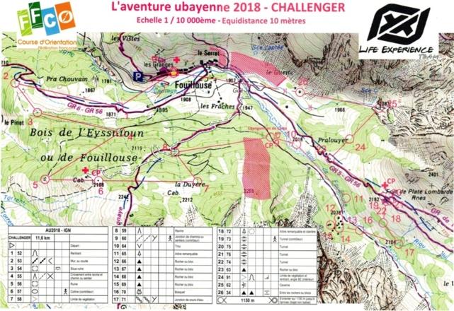 Aventure Ubayenne - 2ème édition
