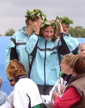 Championne de France de Relais