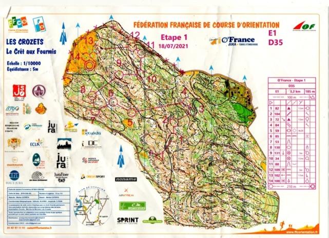 O'France 2021 - Jura Terre d'Emeraude