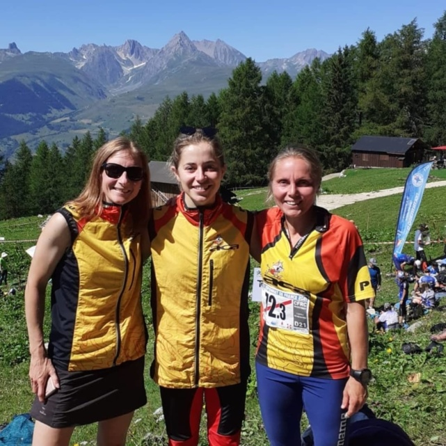 Vices championnes de France D21 Élite de relais !!