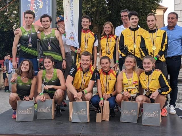 Champions de France Élite de Relais-Sprint !!!!!
