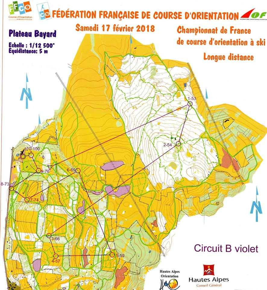 Carte Longue Distance Dame Elite