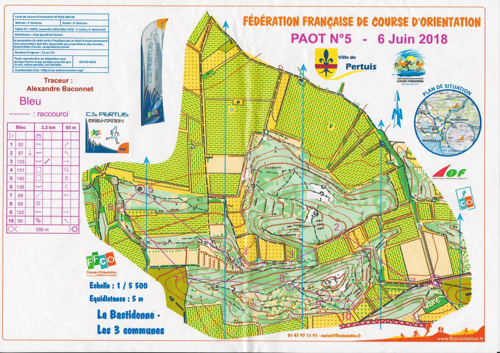 Pays d'Aix Orientation Tour 5 : la Bastidonne