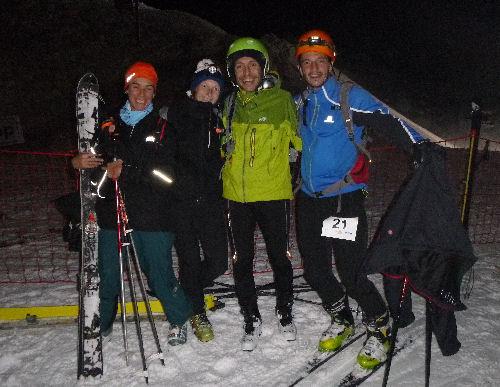 Entraînement hivernal : ma première course de ski alpinisme !