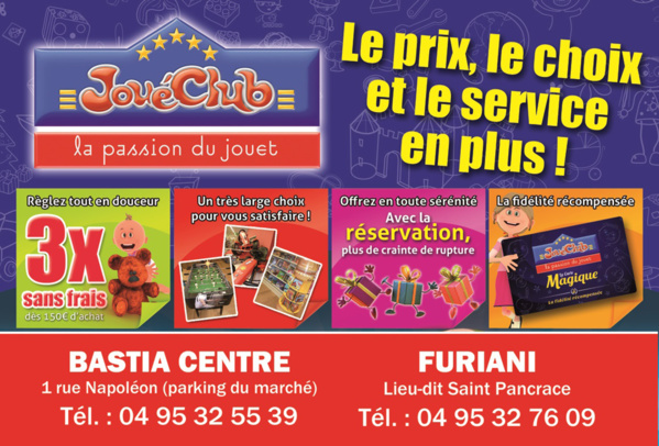 Votre magasin jou club bastia - Geant casino furiani ...