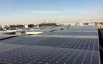 """EC Solar installe la toiture photovoltaïque avec EIFFAGE et SOLSTYCE pour le 1er immeuble tertiaire locatif à énergie positive """"Médiacom 3"""", Saint-Denis"""