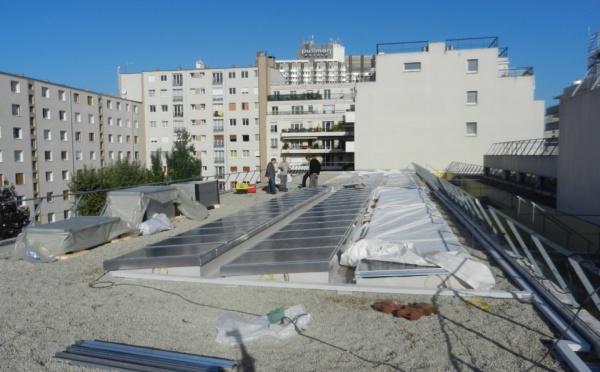 Chantier EC Solar école ISSY LES MOULINEAUX