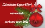 L'Association Espace Gibert vous souhaite ses meilleurs voeux