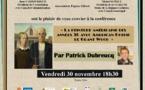 Conférence art, vendredi 30 novembre