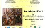 Conférence art vendredi 14 décembre