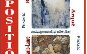 Exposition de peintures et pastels du 30 juillet au 03 septembre 2021