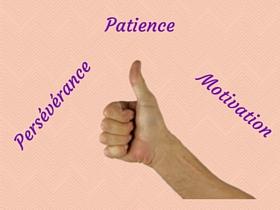Soyez patient et persévérant