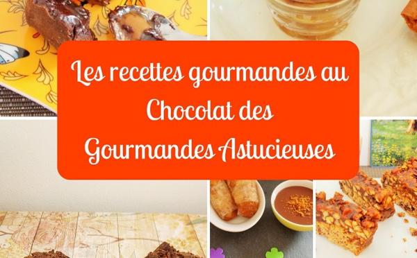 Sortie du livre Les recettes gourmandes au Chocolat des Gourmandes Astucieuses de Katy Gawelik