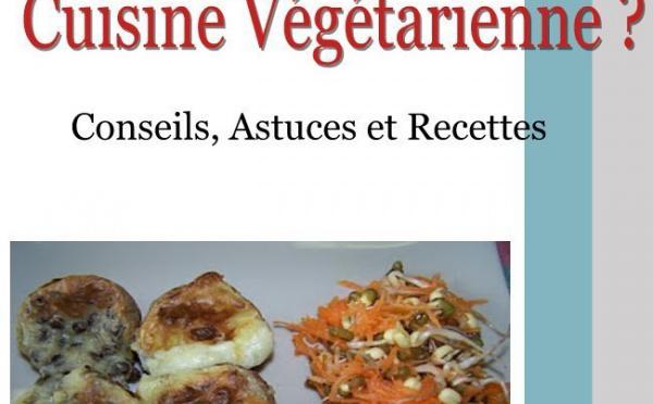 """Sortie du livre """"Comment bien débuter en Cuisine Végétarienne"""""""
