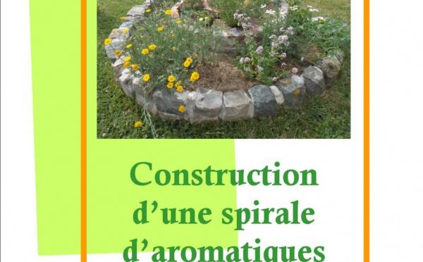 Sortie du livre Construction d'une spirale d'aromatiques