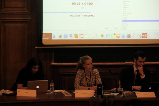 Les chairs du comité UNESCO. - Crédit Lisa Hugouvieux