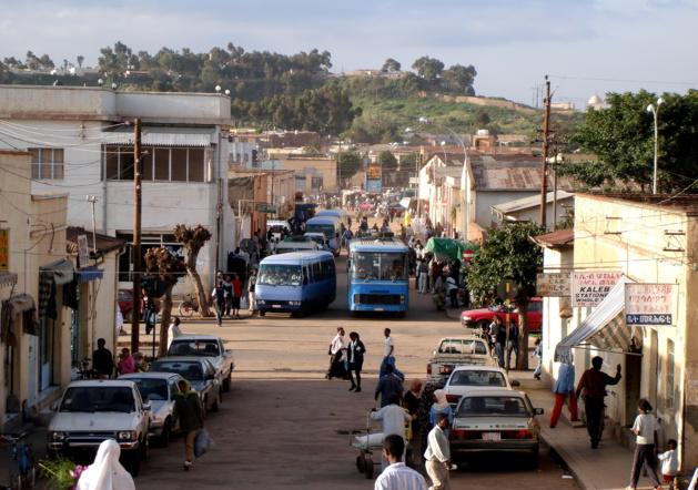 Une rue d'Asmara. Crédit jacopo.
