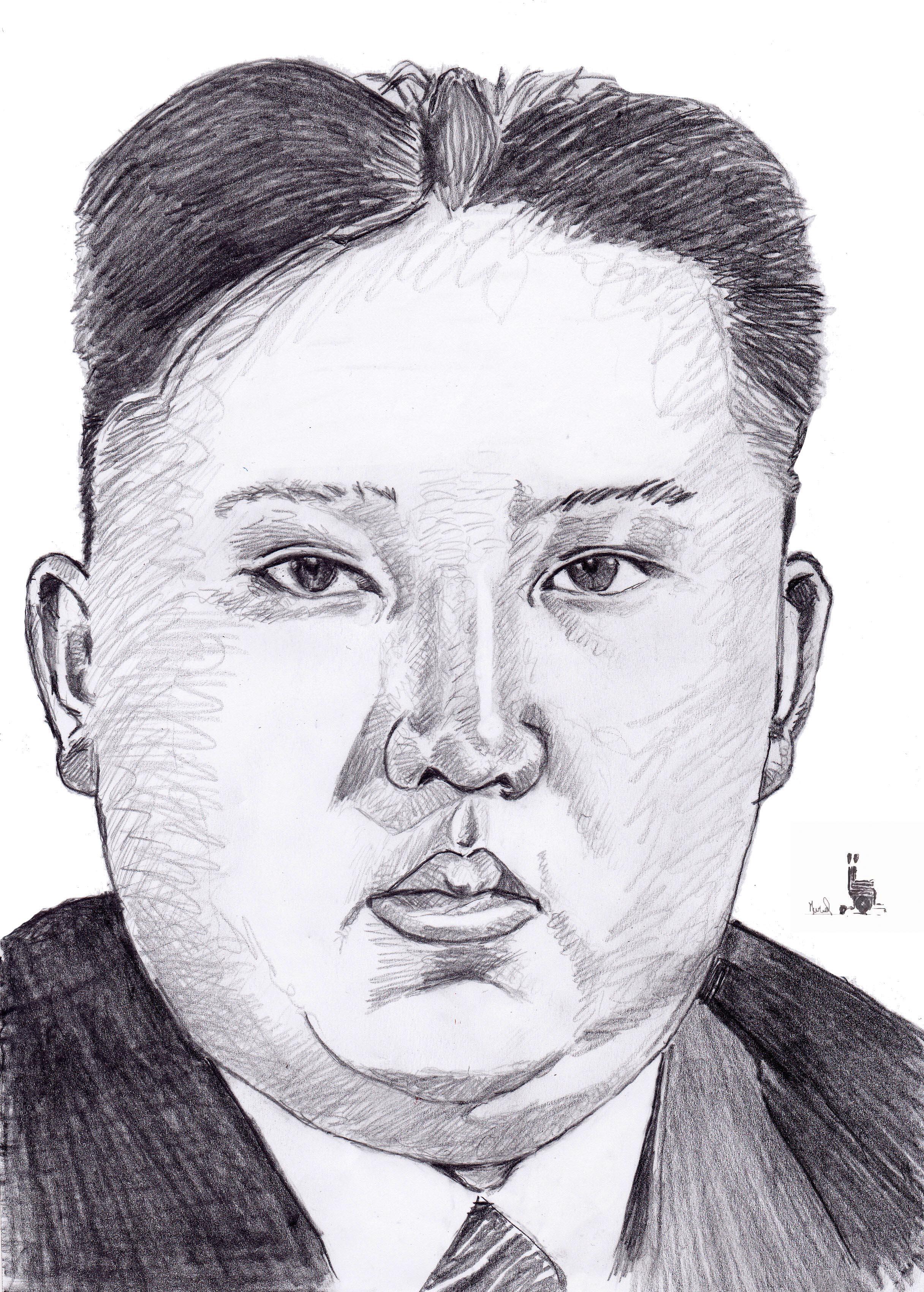 Kim Jong-un. Crédit Muriel Epailly
